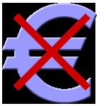 euro-durchgestrichen